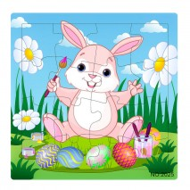 Puzzle 16 pcs (rabbit)