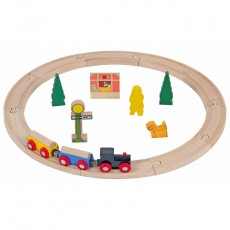 Wooden Trainset (20 pcs)