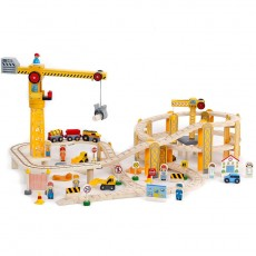Wooden Trainset (82 pcs)