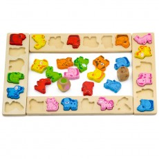 Animal carnival board game